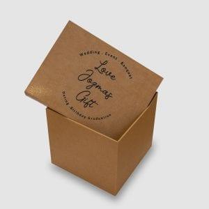 牛皮紙訂造盒(個性化訂製)